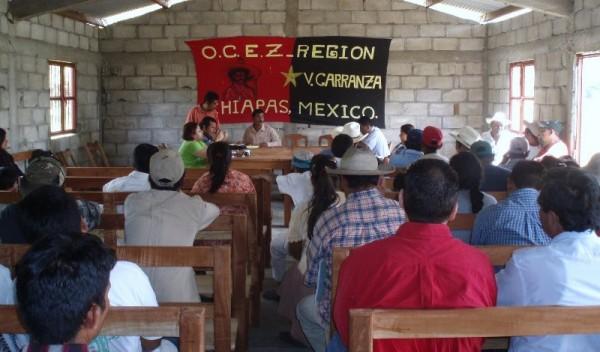 Campesinos de Carranza, víctimas de la represión e impunidad. Foto: Chiapas PARALELO