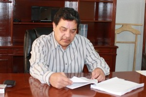 Juan Oscar Trinidad Palacios. Presidente de la Comisión Estatal de los Derechos Humanos.