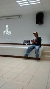 Jóvenes presentan su visión sobre la libertad Foto: Carmen Marín