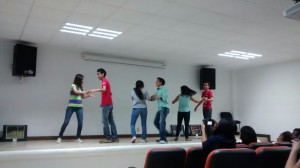 Bailando salsa: Foto: Carmen Marín