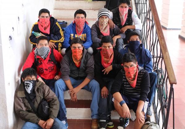 Todos somos Ayotzinapa. Foto: Elizabeth Ruiz