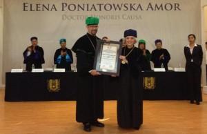 Poniatowska y su reconocimiento de Doctor Honoris Causa por la UNACH
