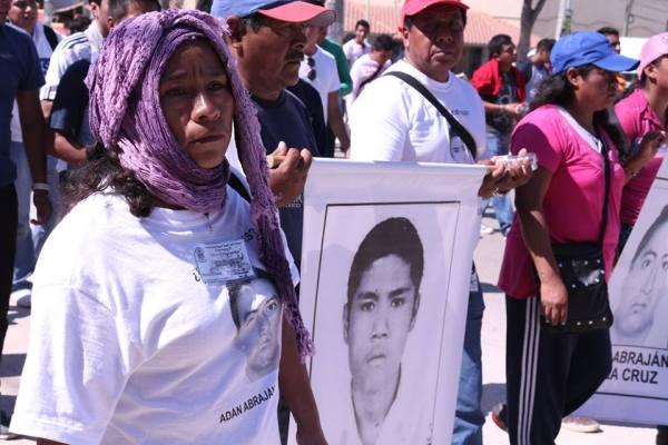 María Inés vino a Chiapas para decir que su hijo está vivo. Foto: Patricia Montesinos/ Chiapas PARALELO.
