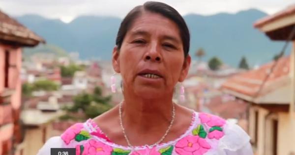 Mujeres buscan sensibilizar y aportar propuestas para atender la violencia de género en el estado de Chiapas.