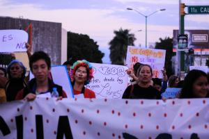 La Marcha de las Putas: 25 de noviembre, Día de la Eliminación de la Violencia contra las Mujeres. Foto: Francisco López Velázquez