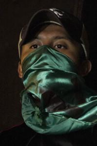 Estudiantes de escuelas rurales expresaron que continuarán con la búsqueda de sus 43 compañeros. Foto: Moysés Zúñiga