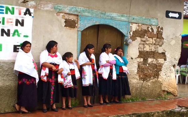 Mujeres de Chiapas. Foto: Ángeles Mariscal/Chiapas PARALELO