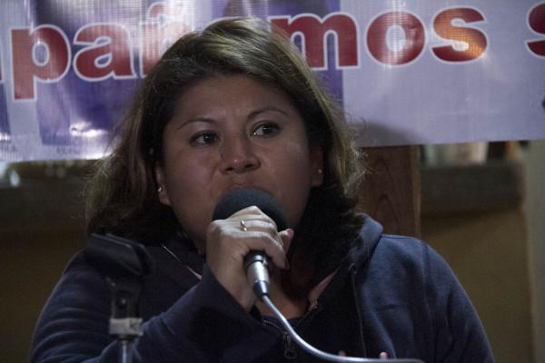 """""""Nos criminalizan por querer cambiar nuestras comunidades, por querer vivir con justicia"""". Foto: Moyséz Zúñiga Santiago"""