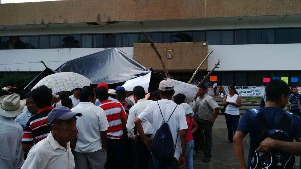Cafeticultores de Chiapas sufren una crisis por la plaga de la roya. Foto: Cesar Rodríguez