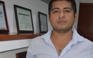 Juan José D Aquino Bautista, estudiante de Ingeniería. Foto: Cesar Rodríguez