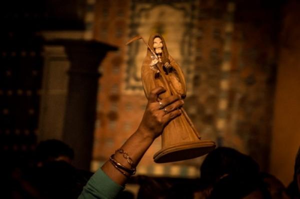 Santa Muerte. Foto: LadoB