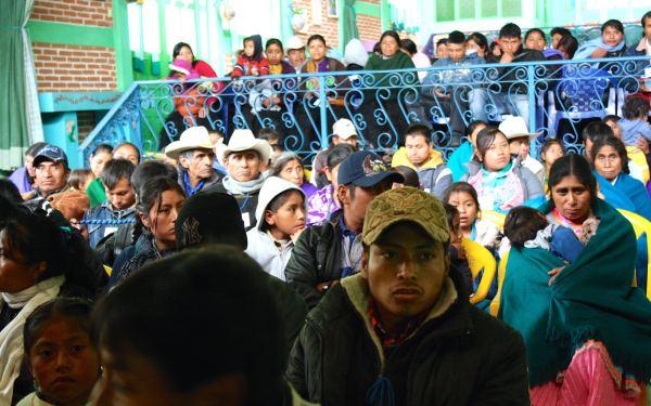 Migrantes de Chiapas analizaron causas y consecuencias de la migración. Demandaron condiciones de desarrollo. Foto: El Vlas