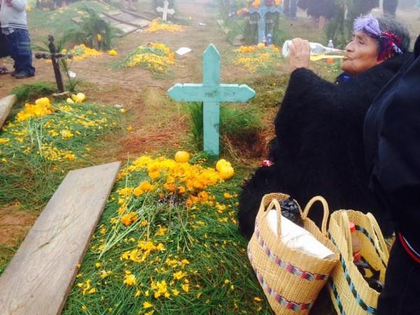 Día de Muertos en Romerillo, Chamula, Chiapas. Foto : Isaín Mandujano