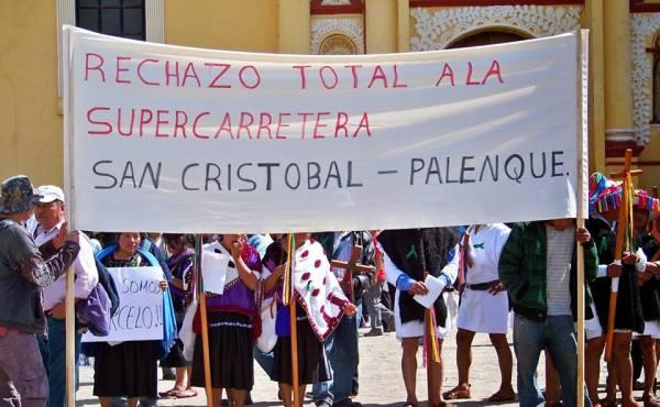 Megaproyectos impuestos, otra forma de violencia a comunidades. Foto: Radio Pozol