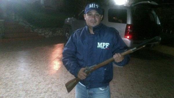 Roberto Carlos Ruiz Ruiz, responsable de prevenir el delito en La Concordia, Chiapas.