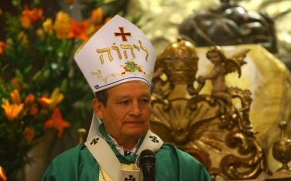 El arzobispo monseñor José Luis Chávez Botello