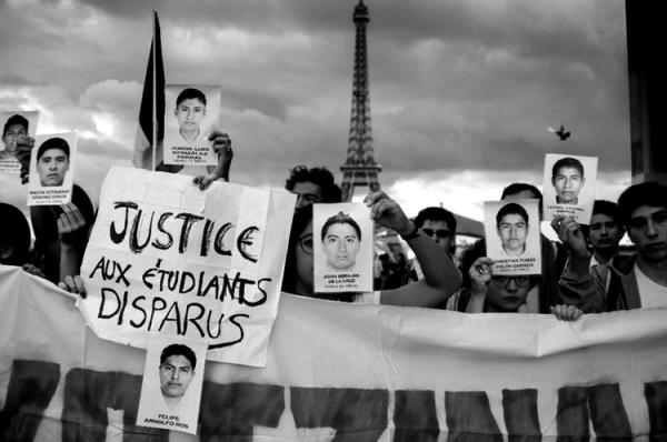 Manifestación en la capital francesa. Foto: Reuters