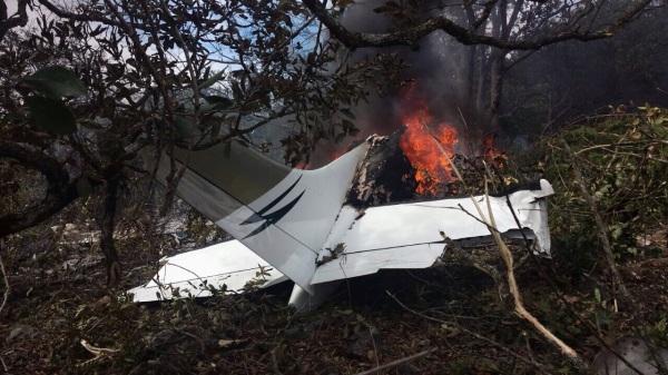 Los cuerpos del piloto y copiloto han sido identificados. Foto: Cortesía