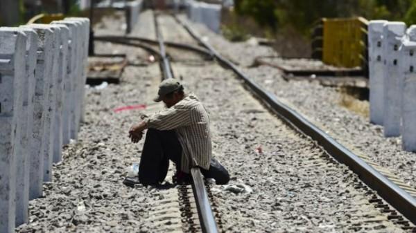 Para los migrantes centroamericanos es más difícil abordar a La Bestia. Foto: AFP/Getty