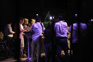 La fotografía del evento, que fue encabezado por la presidenta del DIF, tuvo que ser tomado desde afuera debido a que se le prohibió el acceso al fotógrafo de este portal de noticias. Foto: Francisco López Velásquez/ Chiapas PARALELO.