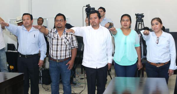 Los nuevos miembros del Consejo Municipal