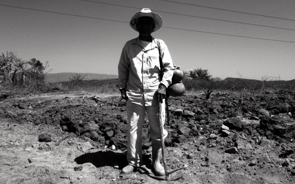 Campesino del Valle Central de Chiapas. Foto: Fermín Ledesma