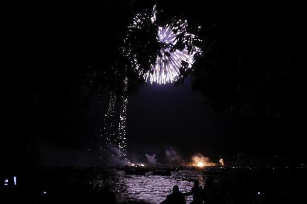 En Chiapa de Corzo cada 21 de enero se celebra el Combate naval como parte de la Fiesta Grande de Enero. Foto: Francisco López Velásquez/ Chiapas PARALELO.