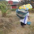 Indígenas ocupaban el predio para instalar sus viviendas. Foto: Emiliano Hernández