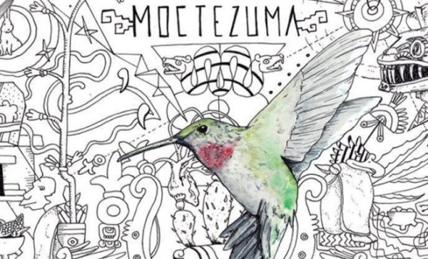 """Portada del disco """"Moctezuma"""" de Porter."""