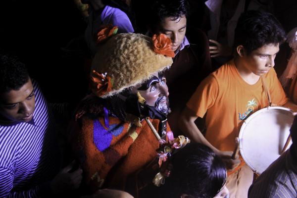 Miles de parachicos y chiapanecas salieron este 15 de enero para celebrar el Señor de Esquipulas. Foto: Francisco López Velásquez/ Chiapas PARALELO.