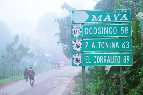 "La ""Ruta Maya"", en la mira de empresarios. Foto: Koman Ille."
