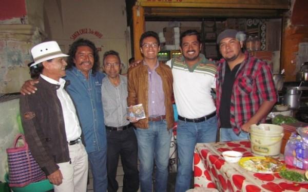 Artistas zapotecos. Foto: Página 3