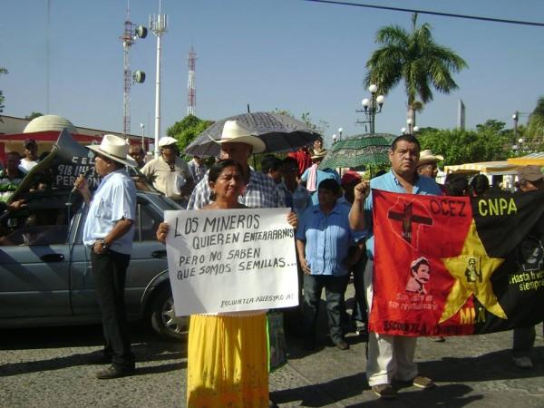 Media docena de empresas extraen diversos minerales de manera ilegal, denunciaron afectados. Foto: Cortesía