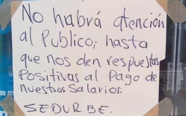 Trabajadores municipales de Tapachula no han recibido aguinaldo y salario. Foto: Cortesía