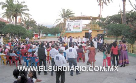 Partido político Mover a Chiapas llega a Oaxaca con apoyo de la Fundación Manuel Velasco Suárez. Foto: Periodico El Sur