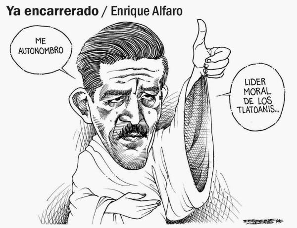 Cartón: Enrique Alfaro