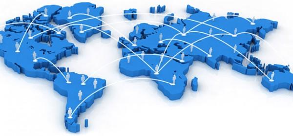 Mapa mundial de las redes sociales. Imagen: www.appsia.es