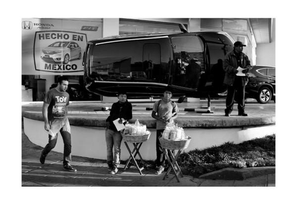"""""""Hecho en México"""" / de la serie """"indiferencia"""" TGZ/Ene/2015 Foto: Jacob García"""