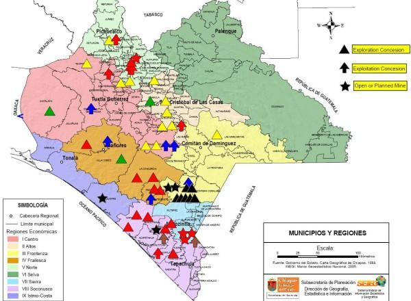 Servicio Geológico Mexicano y empresa GYMSA pretenden realizar exploración en comunidades de casi 20 municipios del Norte y Altos de Chiapas: digna Ochoa