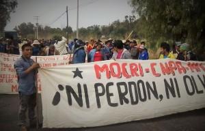 El Movimiento Campesino Regional Independiente Emiliano Zapata (Mocri EZ), como lo ha hecho en gobiernos anteriores, continúa con su actividad destructiva en Chiapas.  Al principio, su radio de acción era muy local y se circunscribía a los municipios de Berriozábal y Ocozocoautla; invadía terrenos y participaba en marchas de protesta para cubrirse de un manto de decencia de la izquierda, pero poco a poco fue mostrando su verdadero rostro: el despojo de casas a legítimos propietarios.