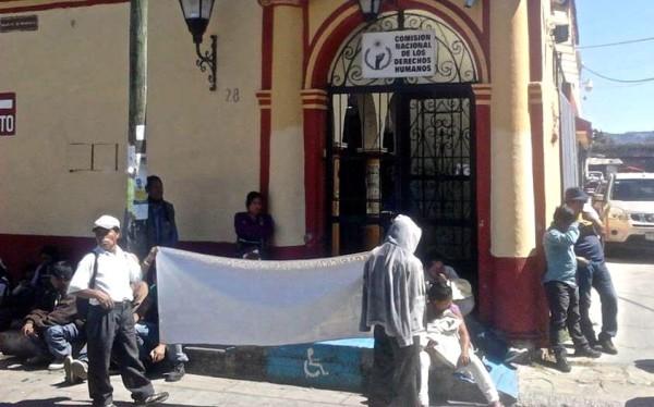 Durante 13 días su cuñado y hermano David López Vázquez y Octavio Rodríguez Méndez, permanecieron encarcelados. Foto: Cortesía