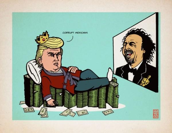 Donald Grump. Cartón: Mr. Power