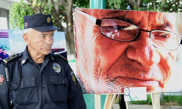 Julio Cesar de la Cruz, más de 30 años de servicio. Foto: Cortesía