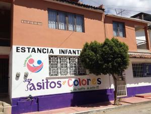 Guardería Pasitos de Colores. Foto: Cortesía