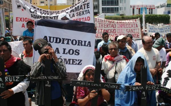 Los Gómez de Simojovel, símbolo de los narcopolíticos: Pueblo Creyente. Foto: Ángeles Mariscal/ChiapasPARALELO