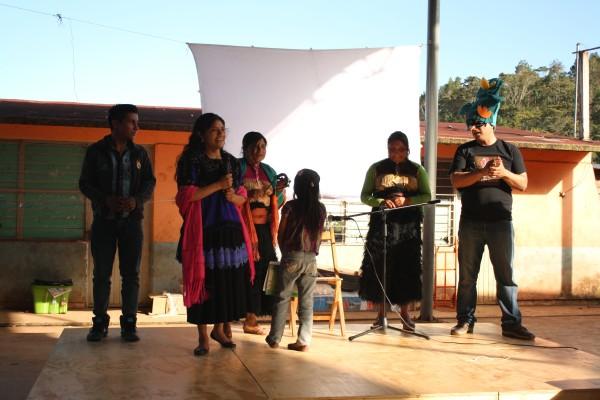 Presentan obra de teatro como parte de las actividades del museo.