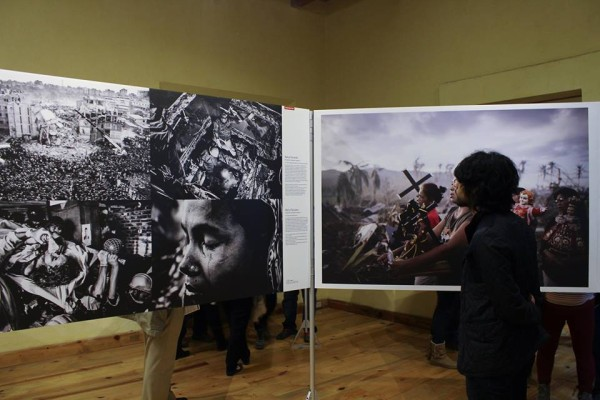 Del 20 de marzo al 9 de abril permanecera expuesta la Expo World Press Photo 2014, que muestra las mejores imágenes de prensa del mundo. Foto: Roberto Ortíz/ Chiapas PARALELO.