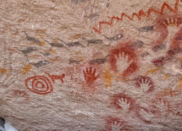 Cueva de las manos, Argentina. Foto: Cortesía