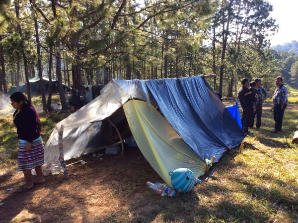 Gobierno de Chiapas se declara incompetente para detener las expulsiones y desplazamientos forzados.  Imagen de indígenas de Las Margaritas. Foto: Cortesía