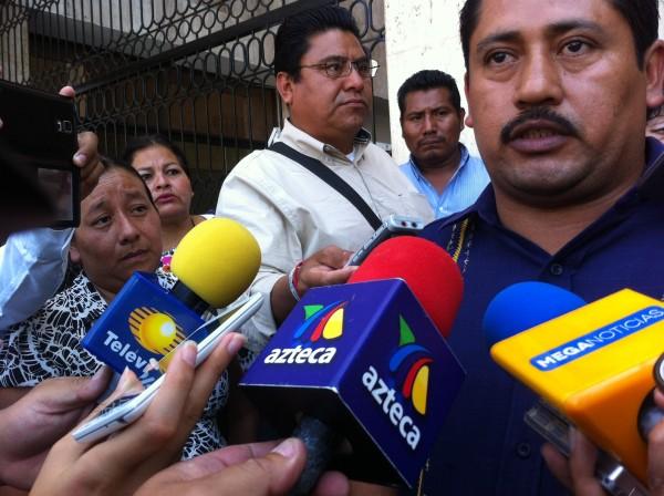 El hermano de Yadira denunció ayer que la muerte de su familiar se debió a negligencia del sistema de salud en Chiapas. Foto: Sandra de los Santos.